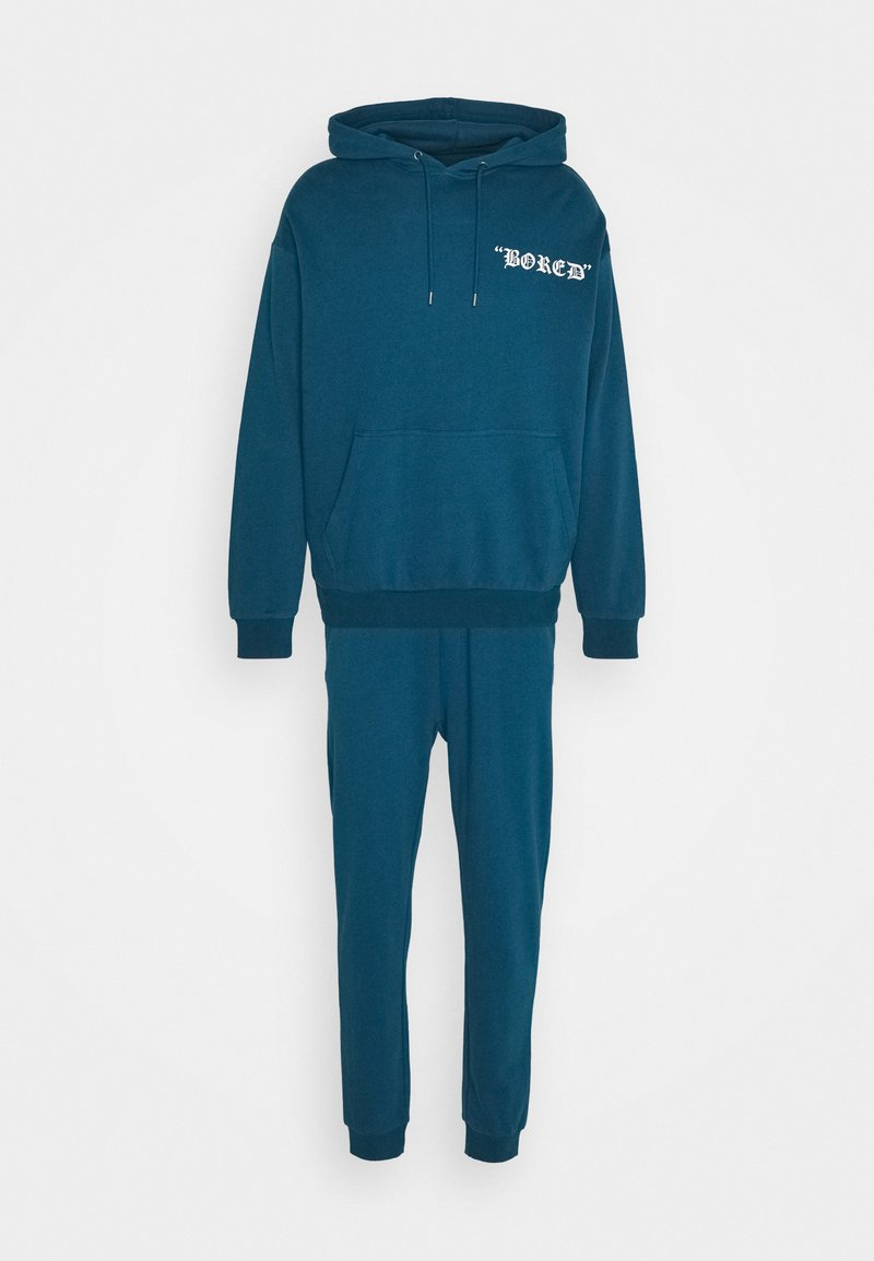 YOURTURN - SET UNISEX - Tracksuit - blue