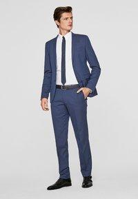 s.Oliver BLACK LABEL - CESANO  - Suit trousers - dark blue - 1