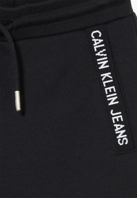Calvin Klein Jeans - LOGO INTARSIA - Verryttelyhousut - black - 3