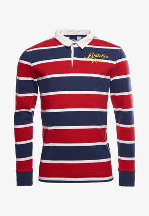 Polo - lauren navy stripe