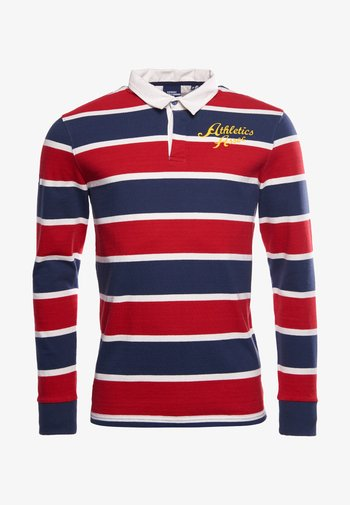 Polo shirt - lauren navy stripe