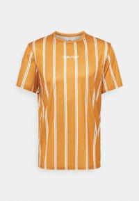 Redefined Rebel - JETT TEE UNISEX - Print T-shirt - inca gold - 0