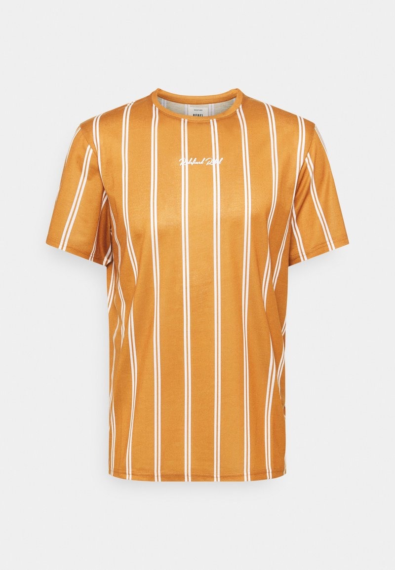 Redefined Rebel - JETT TEE UNISEX - Print T-shirt - inca gold