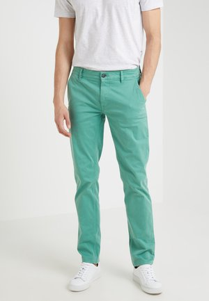 Chino kalhoty - green