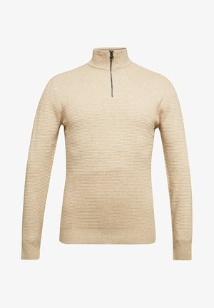 Strikpullover /Striktrøjer - light beige