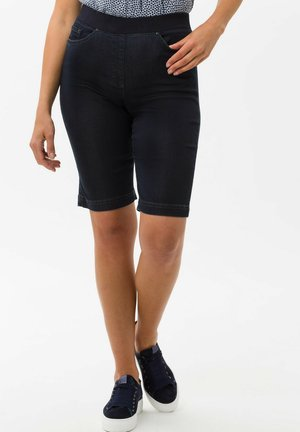 STYLE PAMINA BERMUDA - Denim shorts - dark blue