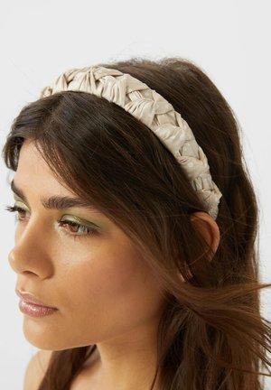MIT TUPFEN  - Haar-Styling-Accessoires - beige