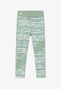 South Beach - GIRLS COLOR BLOCK - Collants - sage green - 2