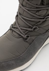 Jack Wolfskin - NEVADA TEXAPORE HIGH - Zimní obuv - dark grey/light grey - 5