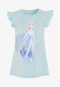 Name it - NMFFROZEN LEXA - Camiseta estampada - dream blue - 0