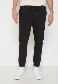 Be Edgy - LORENZ - Cargobroek - black - 0