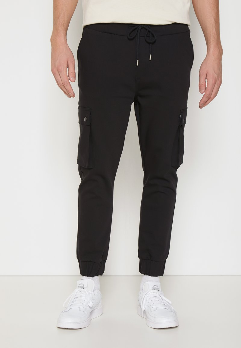 Be Edgy - LORENZ - Cargobroek - black