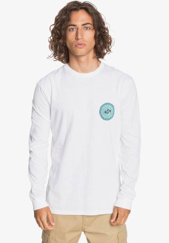 STICK AROUND  - Long sleeved top - white