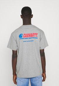 Carhartt WIP - SOFTWARE - Printtipaita - grey heather - 2