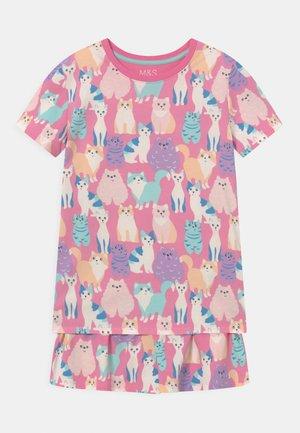 CAT SHORTIE - Pyjama set - multi-coloured