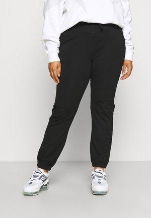 CARGOLDTRASH LIFE ELASTIC ANKEL PANT - Pantalon de survêtement - black