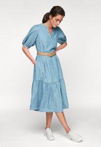 s.Oliver - Maxi dress - blue lagoon denim - 3