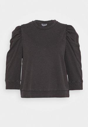 NMISAAC SLEEVE PUFF - Sweatshirt - black