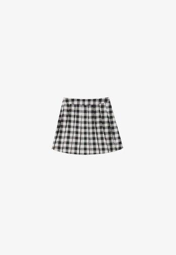 Spódnica trapezowa - off white