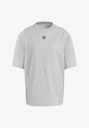 TEE - T-shirt - bas - light grey heather