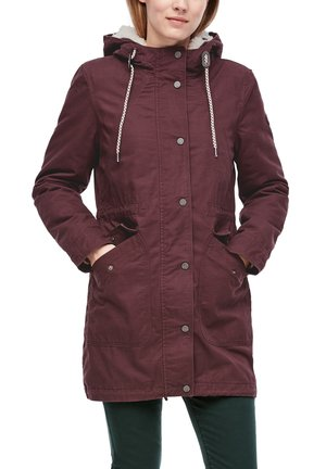 Parka - dark ruby