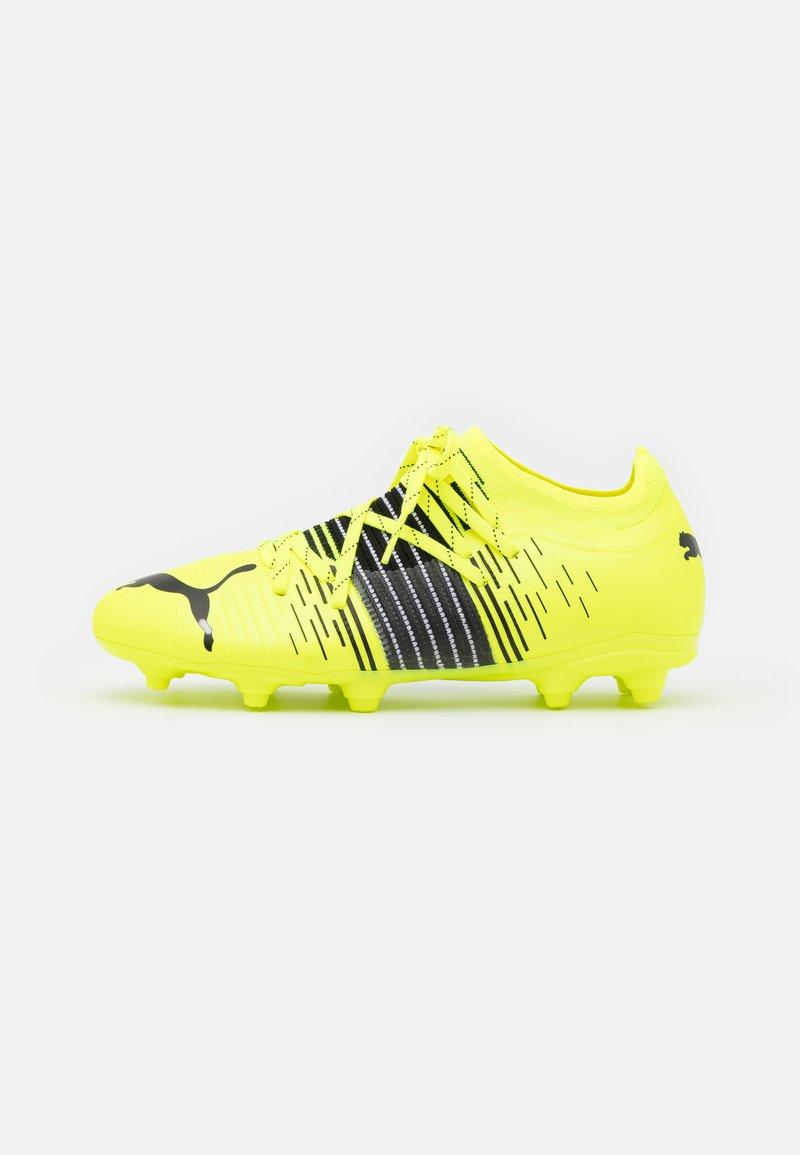 Puma - FUTURE Z 2.1 FG/AG JR UNISEX - Moulded stud football boots - yellow alert/black/white