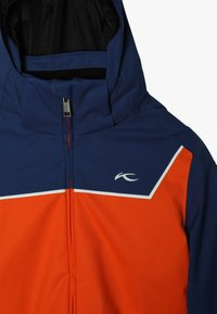 Kjus - BOYS SPEED READER JACKET - Ski jacket - orange/south blue - 5
