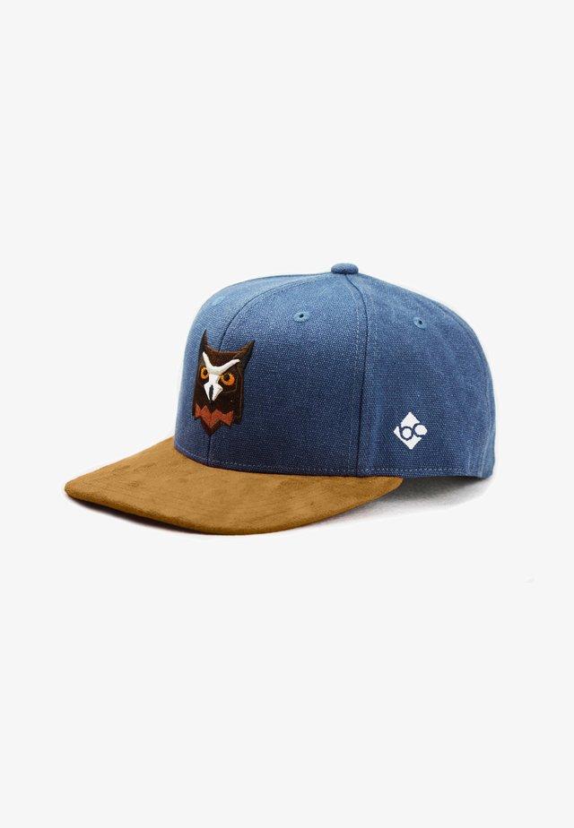 WALDEULE - Cap - dunkelblau