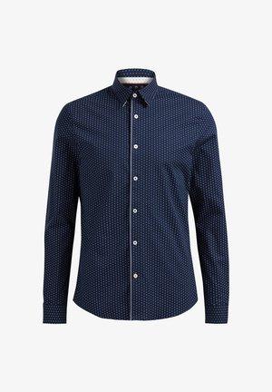 SLIM FIT  - Skjorta - navy blue