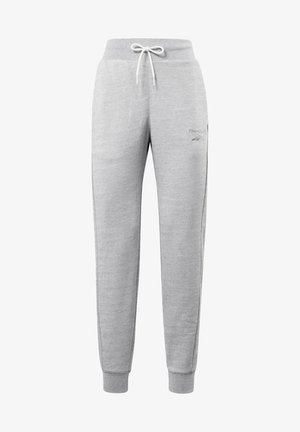 TEXTURED JOGGERS - Tracksuit bottoms - grey