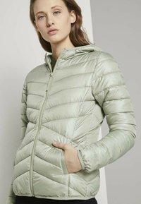 TOM TAILOR DENIM - Light jacket - light olive - 3