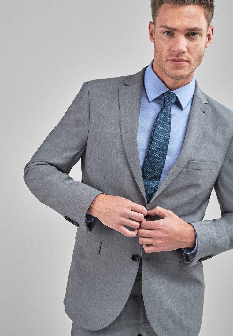 Homme SIGNATURE PLAIN SUIT: JACKET-SLIM FIT - Blazer