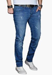Alessandro Salvarini - Slim fit jeans - blau - 2