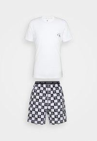 Calvin Klein Underwear - SHORT - Pyžamo - black - 5