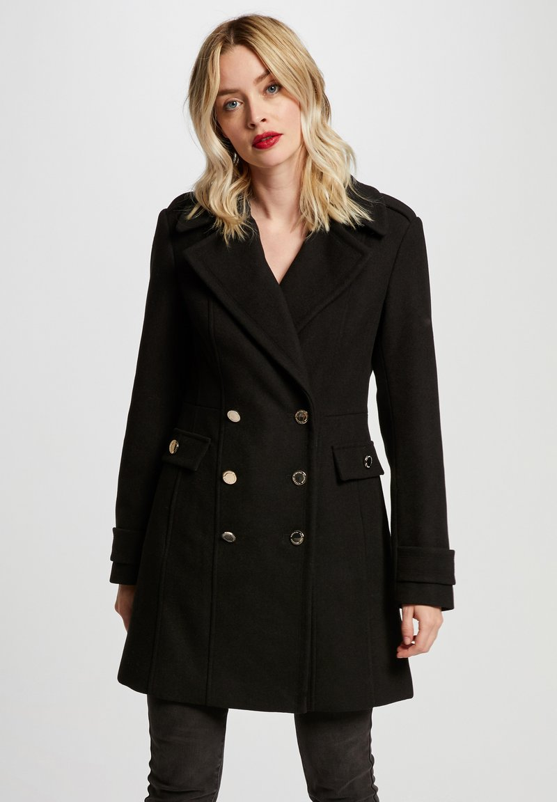 Morgan - Short coat - black