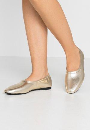 MADDIE - Ballerinaskor - gold