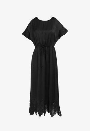 SATINKLEID - Długa sukienka - schwarz