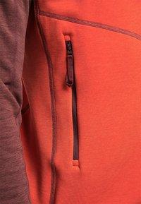 Haglöfs - HERON  - Fleece jacket - habanero/maroon red - 5