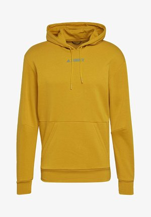 TERREX FOUNDATION OUTDOOR HOODED SWEAT - Huppari - gold