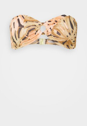 HULA PALM BANDEAU - Bikini top - multi