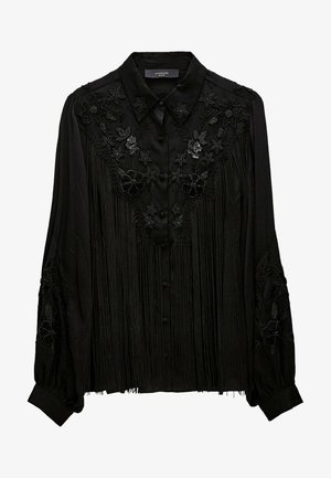 MIT FRANSEN - Overhemdblouse - black