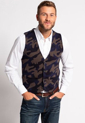 Suit waistcoat - marine