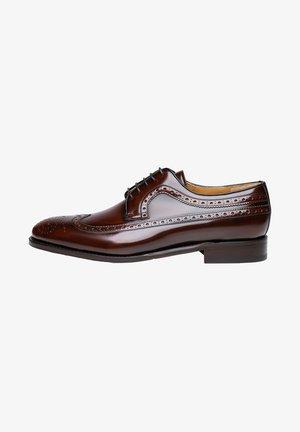 NO. 5519 - Smart lace-ups - brown