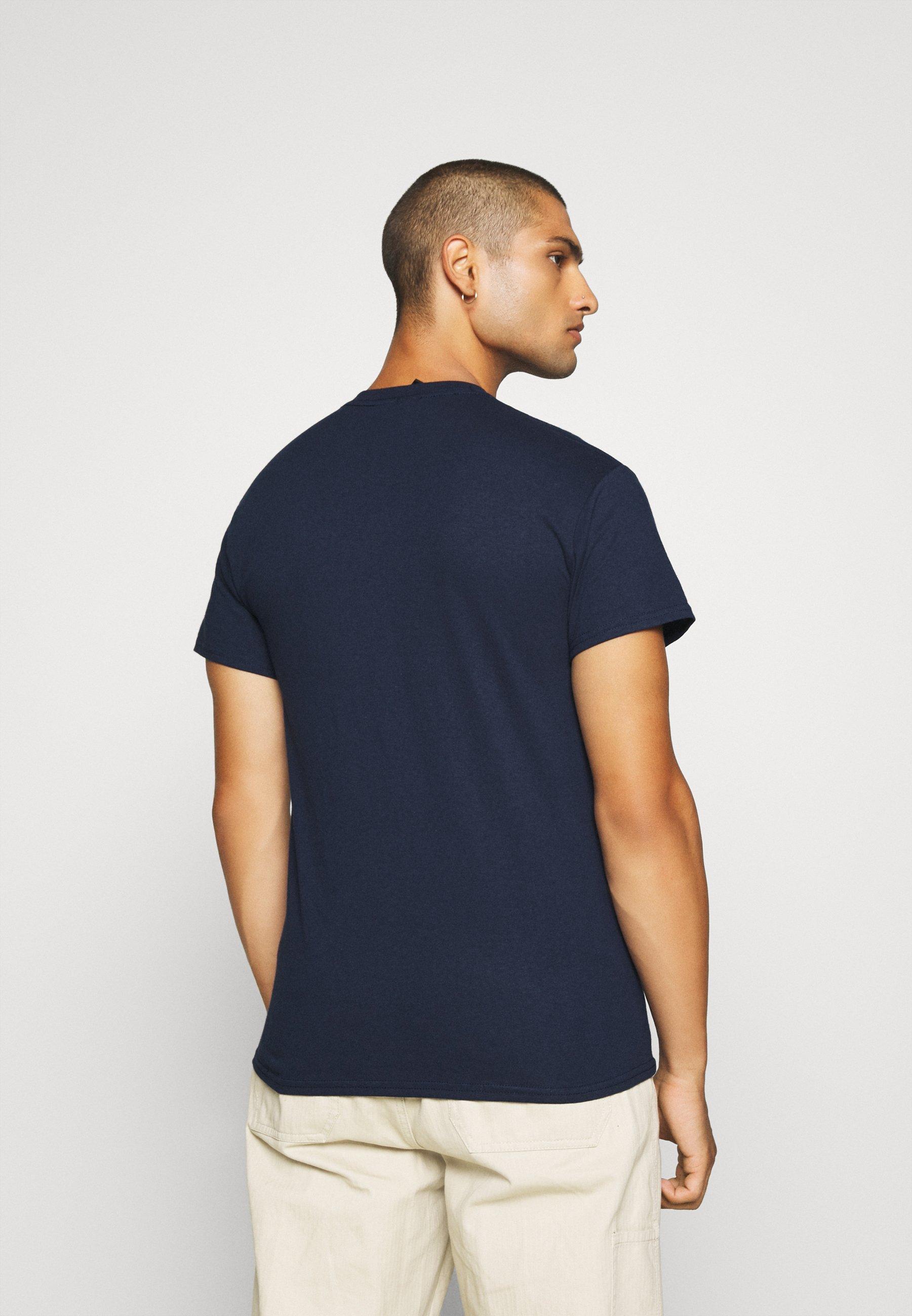 Obey Clothing JUMBLED BASIC POCKET TEE - T-Shirt basic - navy/dunkelblau - Herrenbekleidung c7SpV