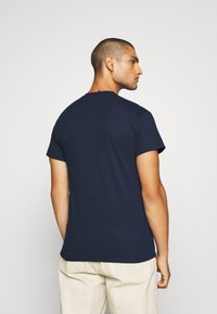 Obey Clothing - JUMBLED BASIC POCKET TEE - T-shirt basic - navy - 2