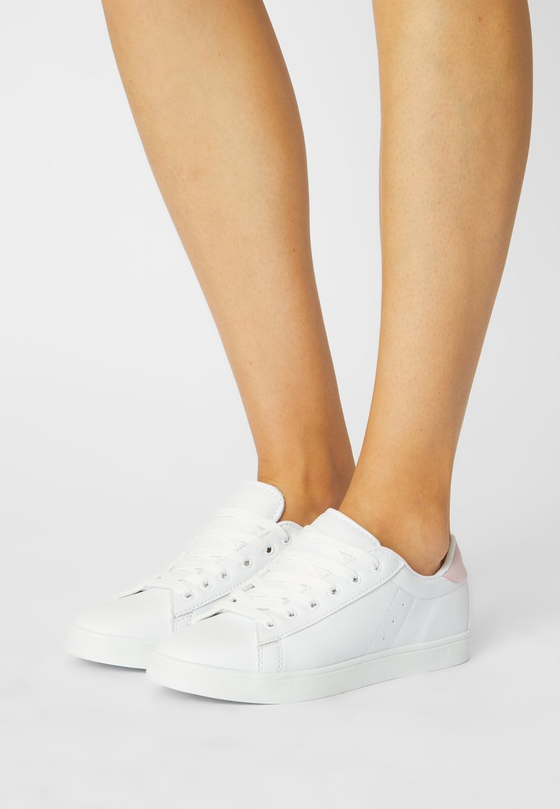 Nly by Nelly - Trainers - white/pink