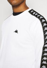 Kappa - ILDAN - Sweatshirt - bright white - 5