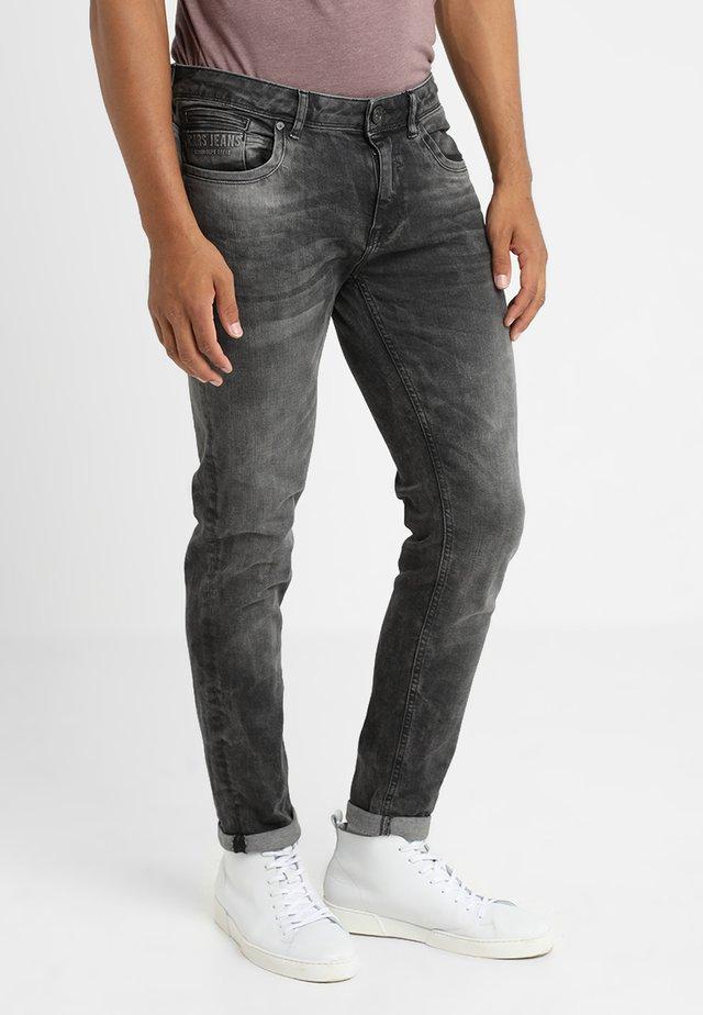 BLAST - Slim fit jeans - blackused