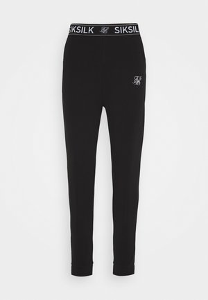 LOUNGE PANTS - Verryttelyhousut - black