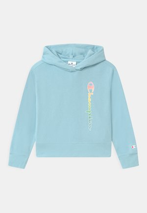 COLOR LOGO HOODED - Bluza z kapturem - blue